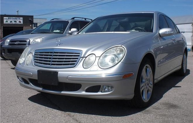 2004 MERCEDES-BENZ E500   4MATIC  AWD