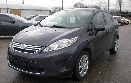 2012 FORD FIESTA  CERTIFIED